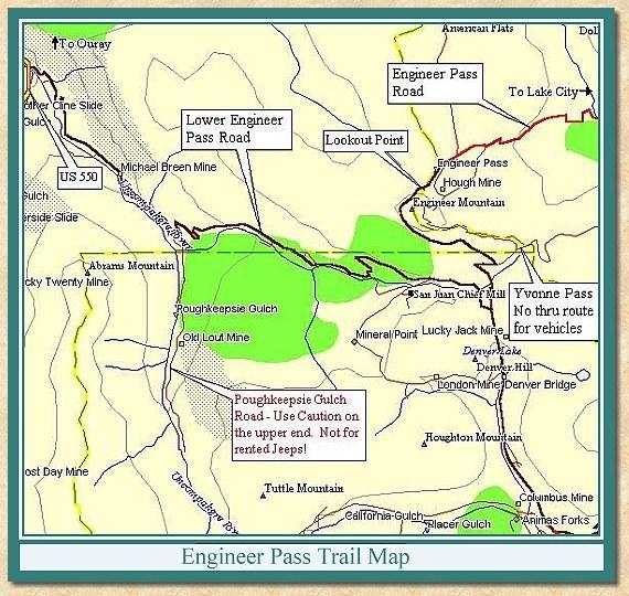 Engineer Pass Trail Report
