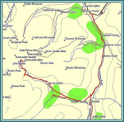 Eureka Gulch Trail Report
