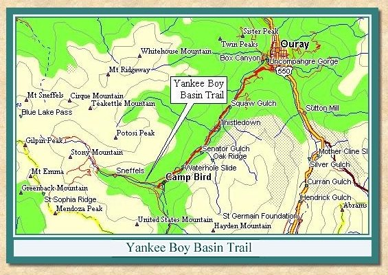 Yankee Boy Basin Trail Views