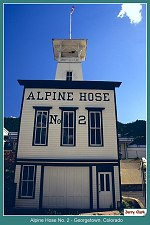 Alpine Hose No. 2 Georgetown, Colorado _  (87k)