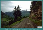 Rio Grande Southern grade from Vance Junction to Trout Creek -  (93k)
