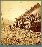 Denver and Rio Grande - Pay train on Dump Mountain -- 1880(Image 00157) (159k)