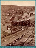 Colorado Central Railroad - Near Central City - 1879 - (Image 00186) (210k)