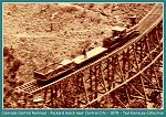 Colorado Central Railroad - long trestle over Running Gulch BR. 37.20 (a C&S number) - 1878 - (Image 00205) (88k)