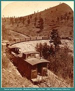 Denver and Rio Grande - Muleshoe Curve - Veta Pass - 1882 (Image 00215) (167k)