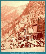 Ouray,Colorado -- 1892 (188k)