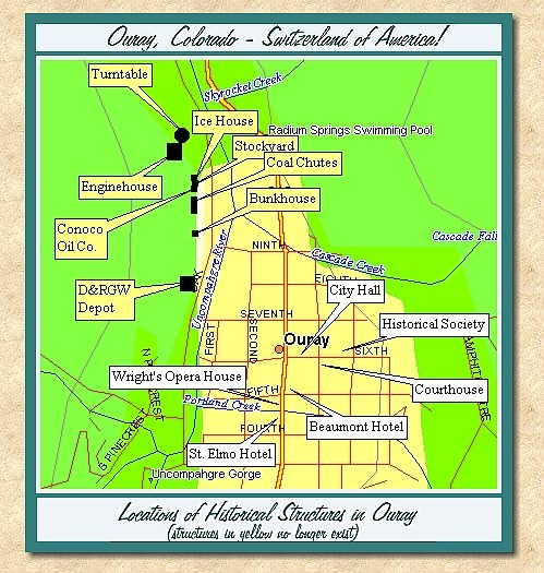 Ouray Colorado A Short History