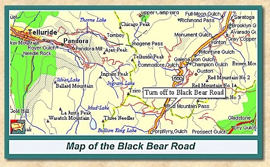 Black Bear Road Trail Report