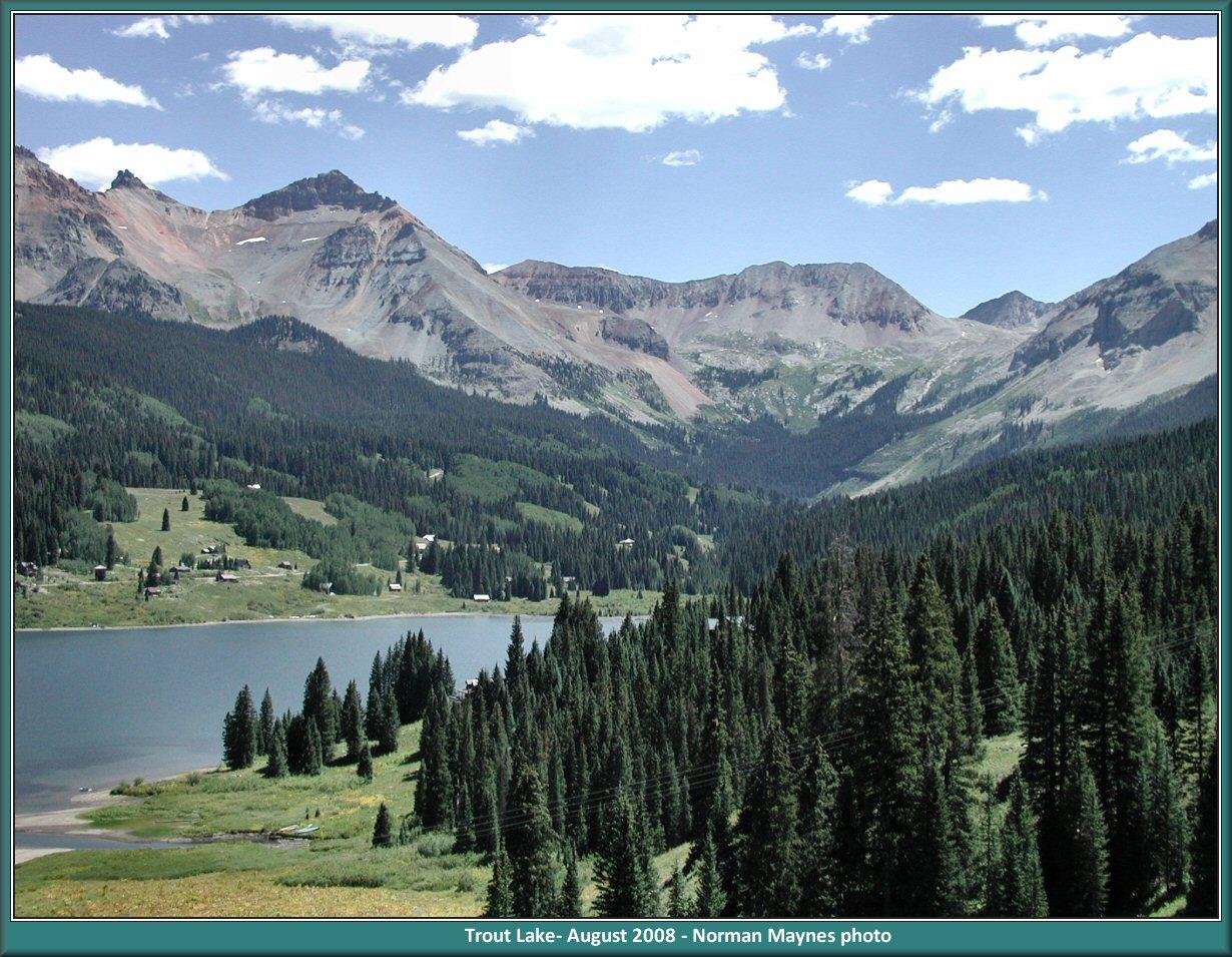 Excursion 1 A Visit To Trout Lake Colorado